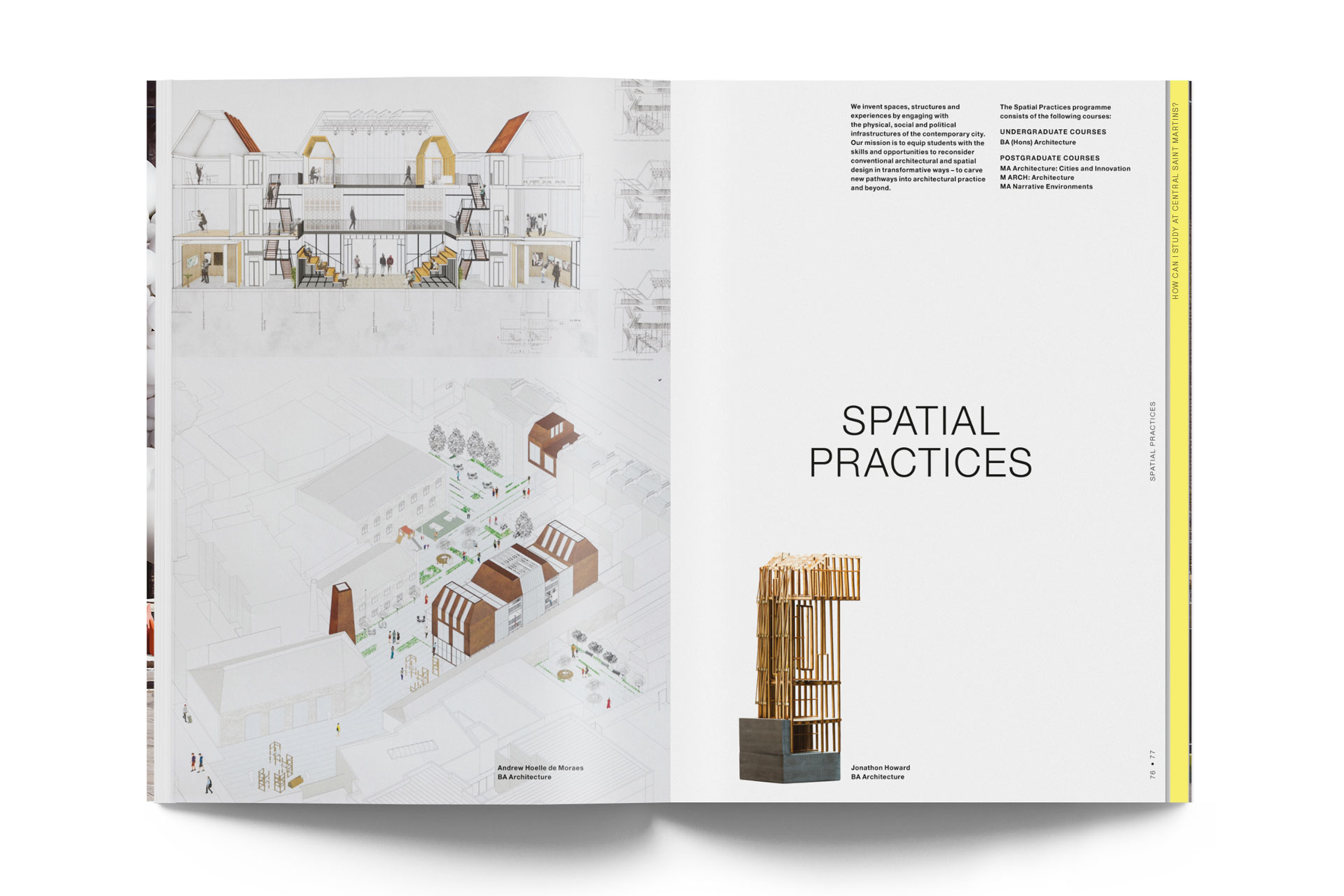 A guide to Central Saint Martins. 1st edition 22
