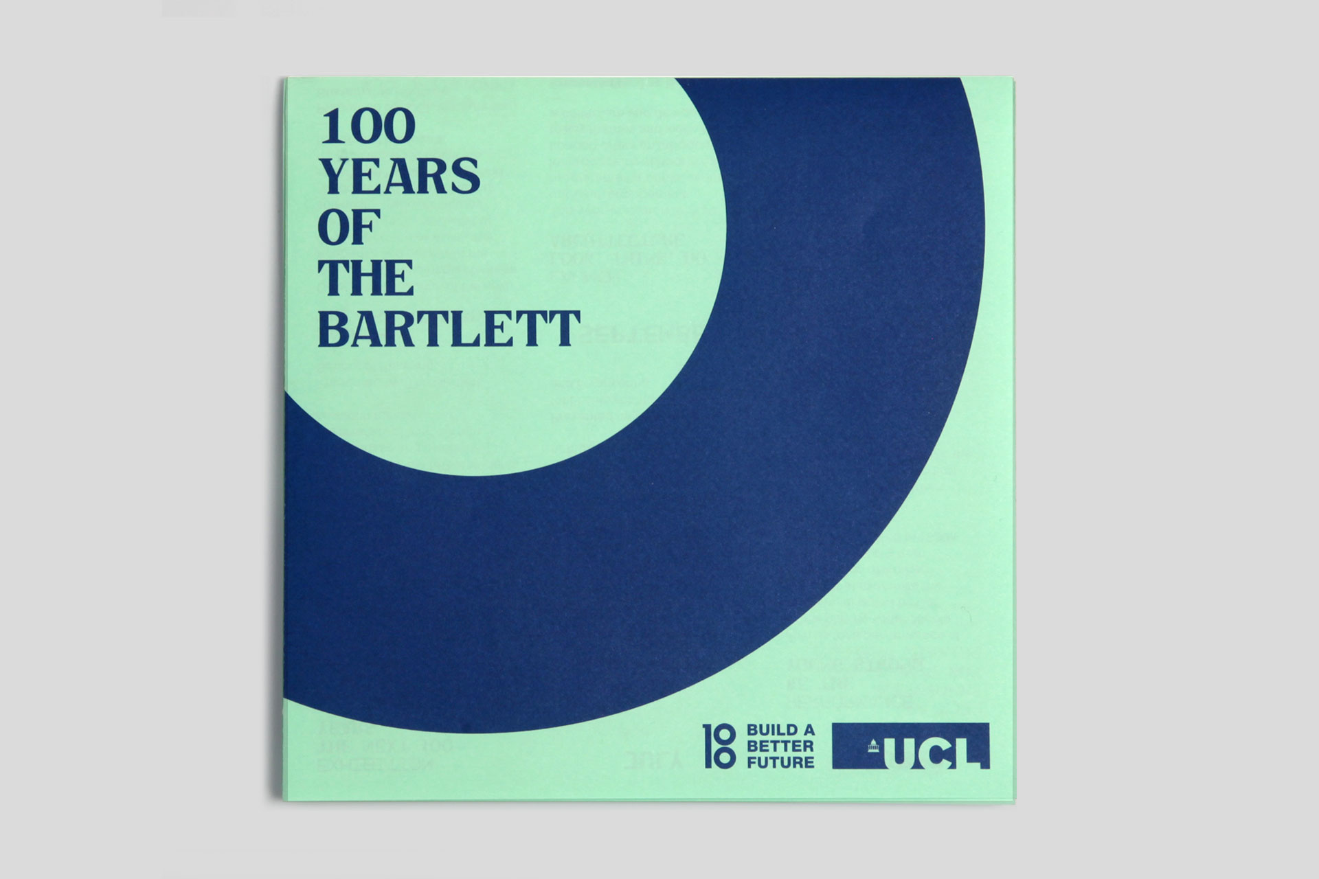 The Bartlett Centenary campaign 16