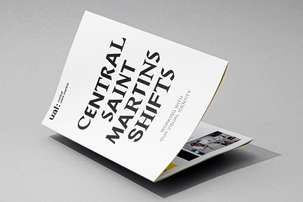 Central Saint Martins identity launches 3