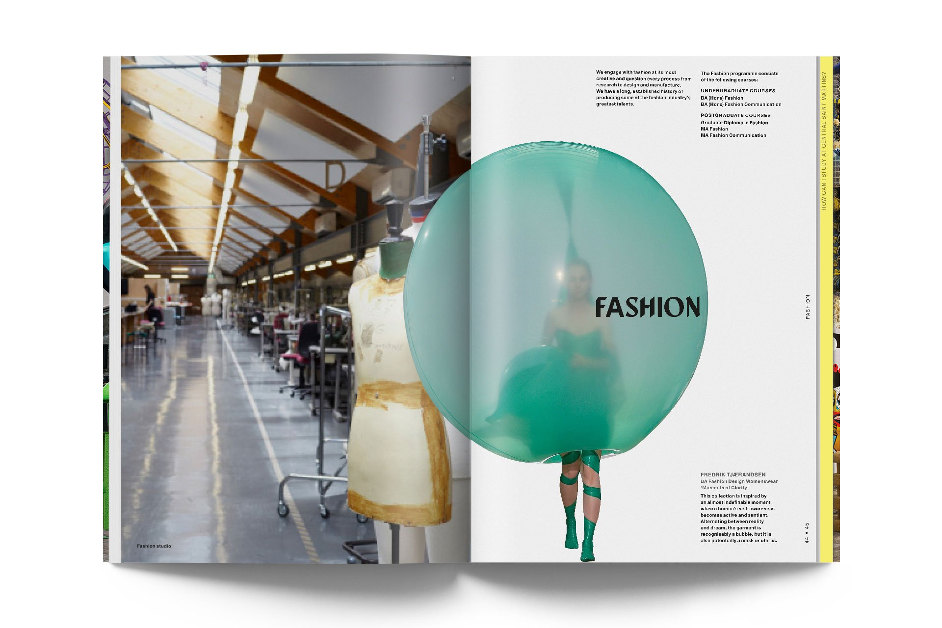 A guide to Central Saint Martins 14