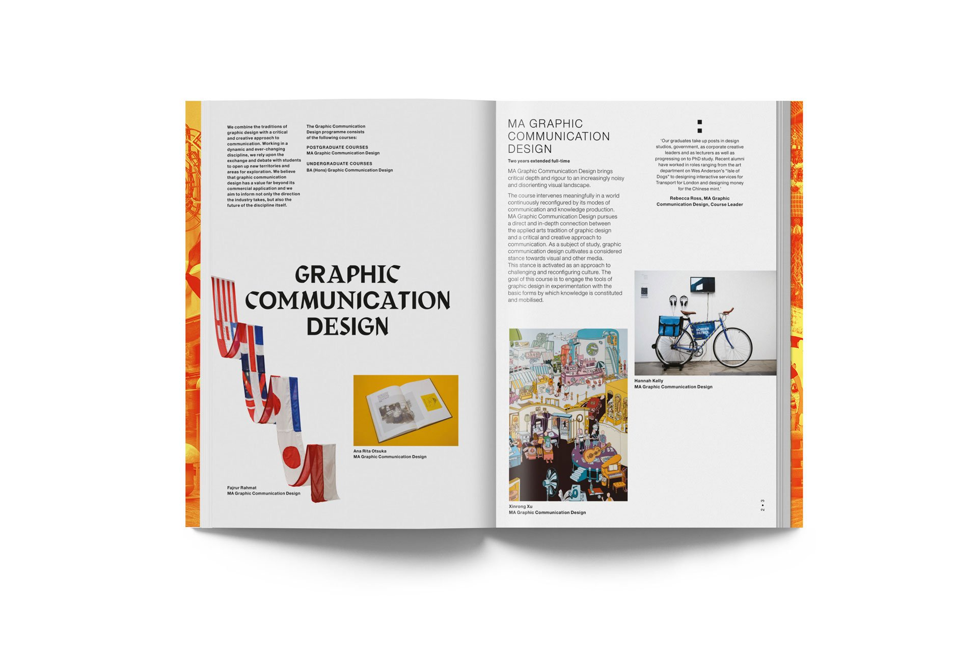Postgraduate studies at Central Saint Martins. 2nd edition 18